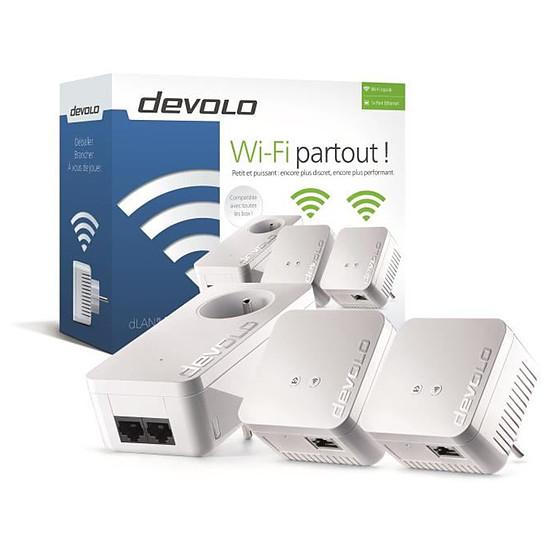 CPL Devolo dLAN 550 WiFi CPL - Network Kit (9639)