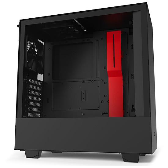 Boîtier PC NZXT H510 - Noir/Rouge