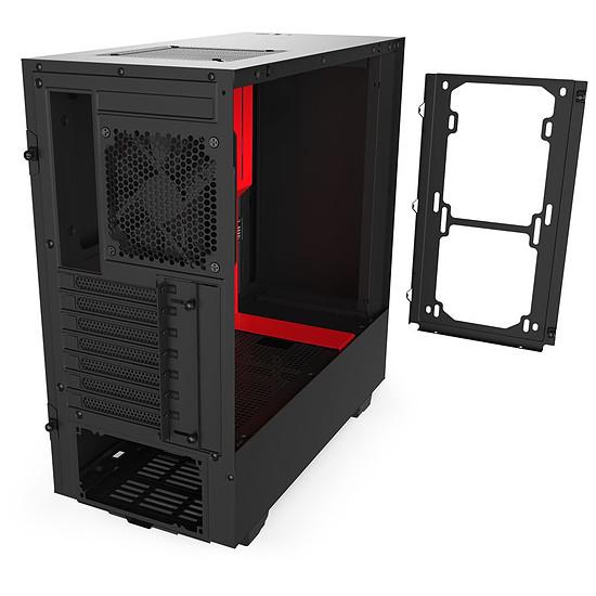 Boîtier PC NZXT H510 - Noir/Rouge - Autre vue