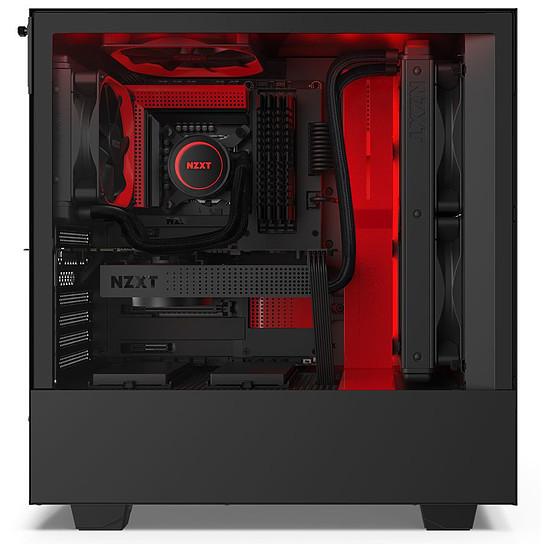 Boîtier PC NZXT H510I - Noir/Rouge - Autre vue