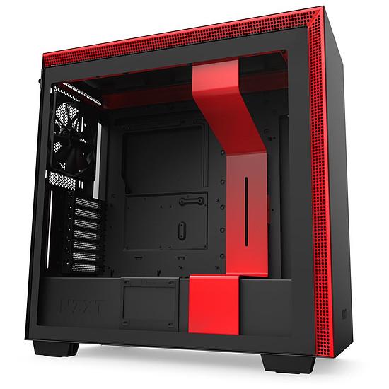 Boîtier PC NZXT H710 - Noir/Rouge