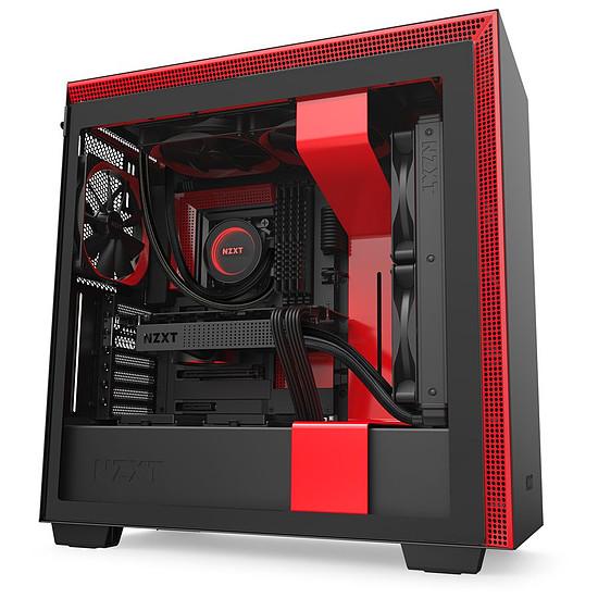 Boîtier PC NZXT H710 - Noir/Rouge - Autre vue