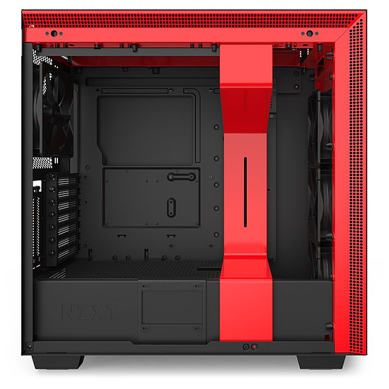 Boîtier PC NZXT H710I - Noir/Rouge - Autre vue