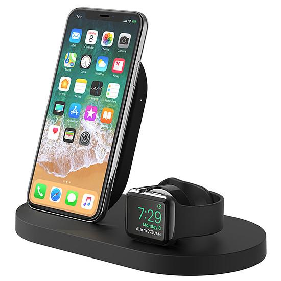 Chargeur Belkin Station de charge sans fil à induction Boost Up pour iPhone et Apple Watch Qi 7,5 W (noir) - Autre vue