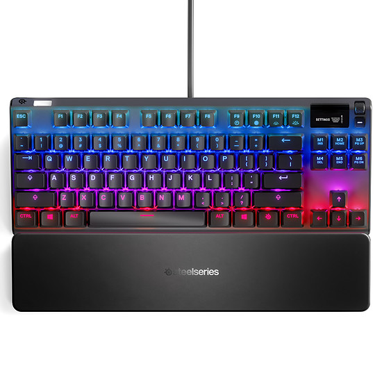 Clavier PC SteelSeries Apex 7 TKL - Gateron QX2 Red