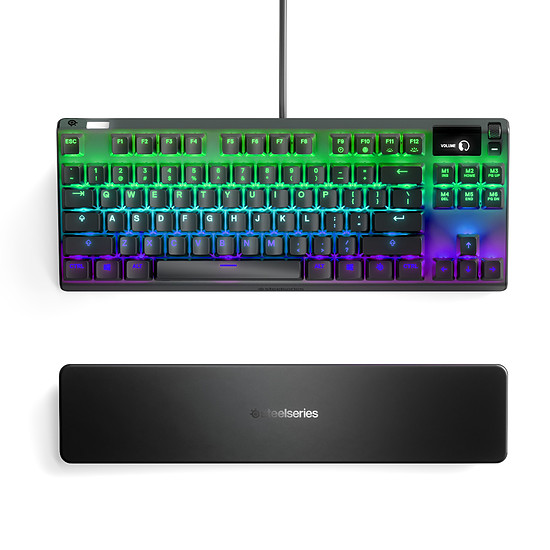 Clavier PC SteelSeries Apex 7 TKL - Gateron QX2 Red - Autre vue