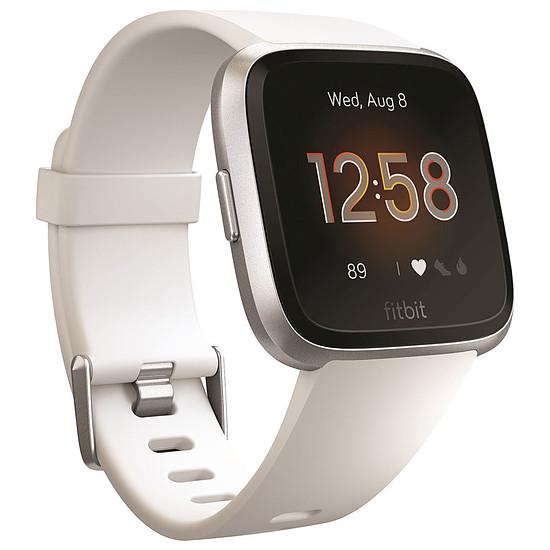 Montre connectée Fitbit Versa Lite (argent - blanc) - Bluetooth - 34 mm