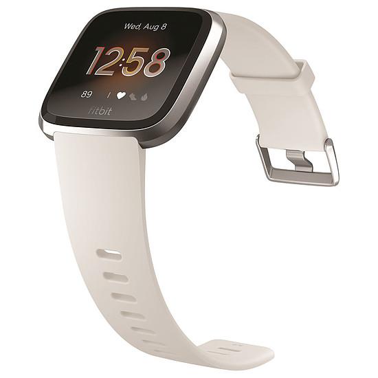 Montre connectée Fitbit Versa Lite (argent - blanc) - Bluetooth - 34 mm - Autre vue