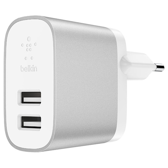 Chargeur Belkin Chargeur secteur Boost Charge (gris) - USB-A - 24 W