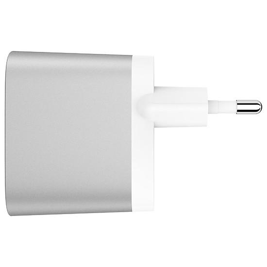Chargeur Belkin Chargeur secteur Boost Charge (gris) + câble Lightning (blanc) - USB-A - 24 W - Autre vue