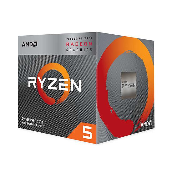 Processeur AMD Ryzen 5 3400G