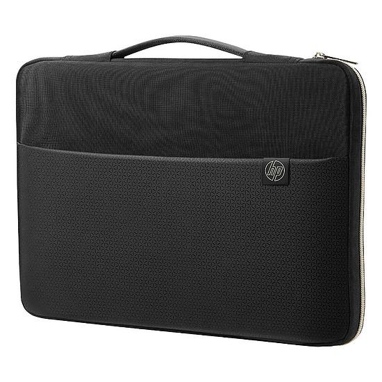 """Sac, sacoche et housse HP Carry Sleeve 14"""" Noir/Or"""
