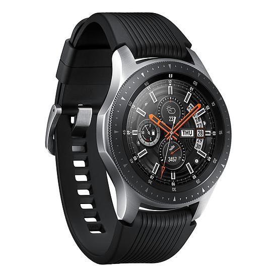 Montre connectée Samsung Galaxy Watch 4G (gris acier - noir) - 4G - 46 mm