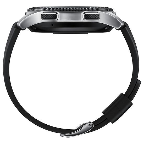 Montre connectée Samsung Galaxy Watch 4G (gris acier - noir) - 4G - 46 mm - Autre vue