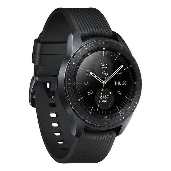 Montre connectée Samsung Galaxy Watch 4G (noir carbone - noir) - 4G - 42 mm