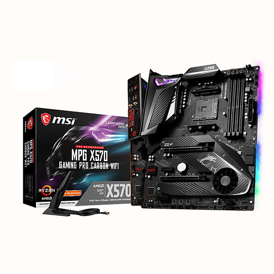 Carte mère MSI MPG X570 GAMING PRO CARBON WIFI