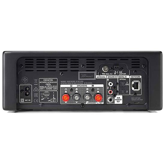 Mini-chaine Denon CEOL N10 Noir - Sans HP - Occasion - Autre vue