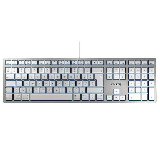 Clavier PC Cherry KC 6000 Slim for Mac - Argent