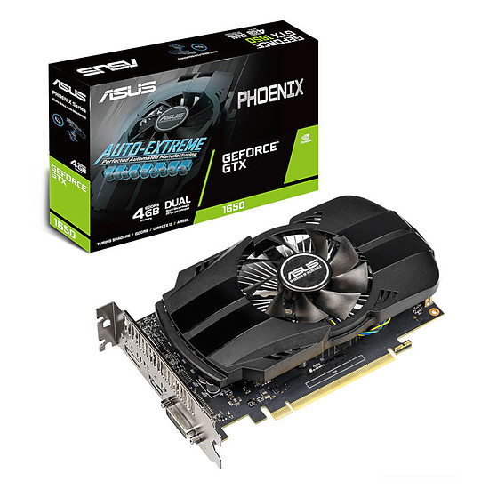 Carte graphique Asus GeForce GTX 1650 Phoenix