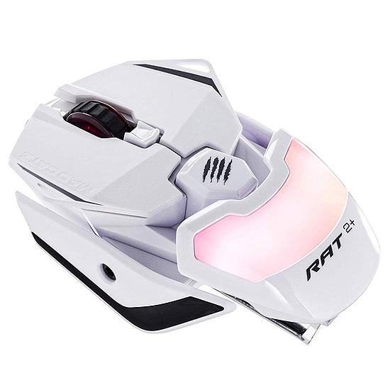 Souris PC Mad Catz R.A.T.2+ - Blanc - Autre vue