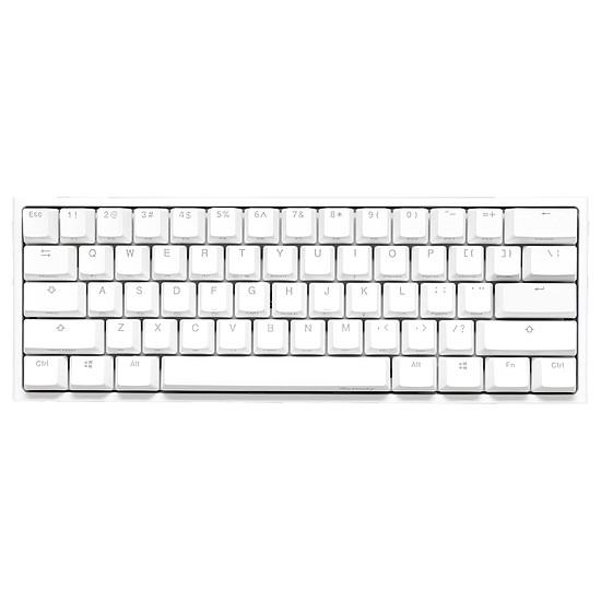 Clavier PC Ducky Channel One 2 Mini RGB - Blanc - Cherry MX Silent - Autre vue