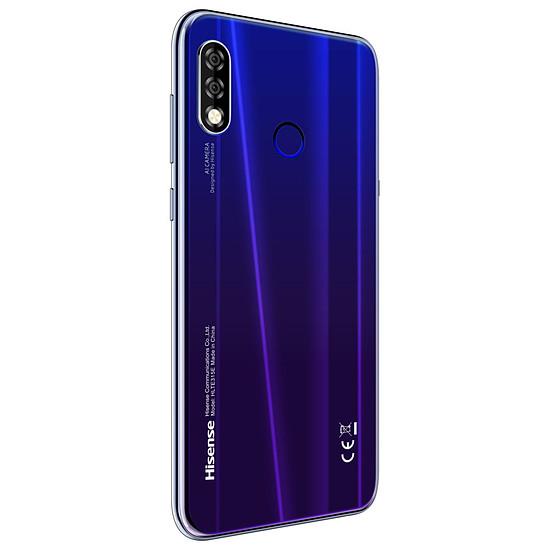Smartphone et téléphone mobile Hisense Infinity H30 (bleu) - 64 Go - 4 Go - Autre vue