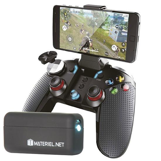Autres accessoires Akashi Manette Bluetooth smartphone + Materiel.net Power Roger