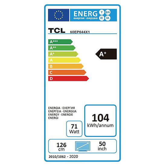 TV TCL 50EP644 TV LED UHD 4K 126 cm - Autre vue