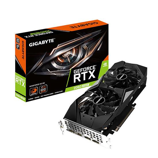 Carte graphique Gigabyte GeForce RTX 2060 SUPER WindForce OC (rev 2.0)