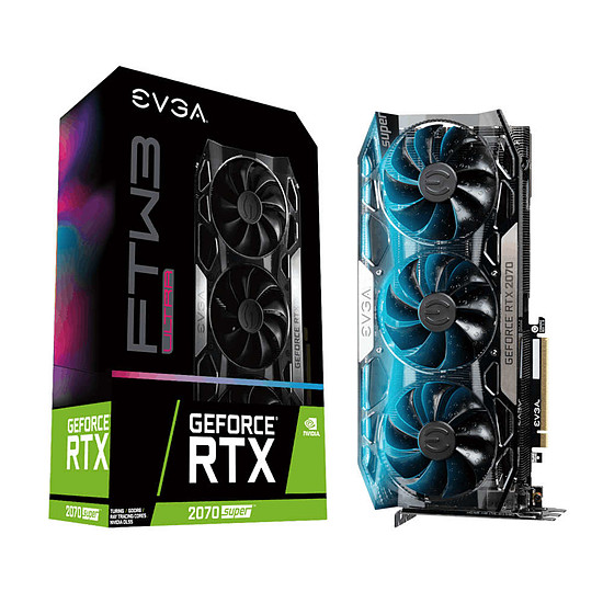 Carte graphique EVGA GeForce RTX 2070 SUPER FTW3 ULTRA
