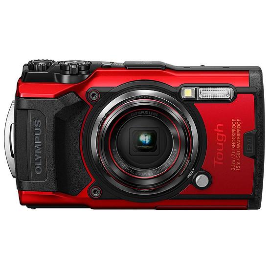 Appareil photo compact ou bridge Olympus TG-6 Rouge
