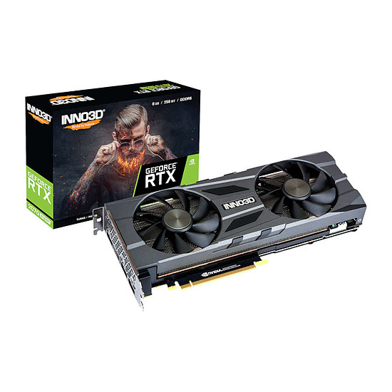 Carte graphique Inno3D GeForce RTX 2070 SUPER Twin X2 OC