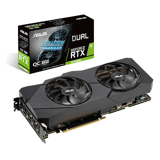 Carte graphique Asus GeForce RTX 2070 SUPER Dual OC EVO