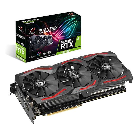 Carte graphique Asus GeForce RTX 2060 SUPER ROG STRIX A8G