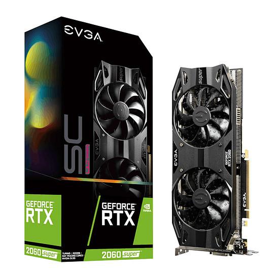 Carte graphique EVGA GeForce RTX 2060 SUPER SC Ultra