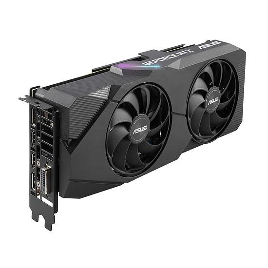 Carte graphique Asus GeForce RTX 2060 SUPER Dual OC EVO - Autre vue