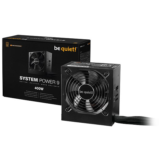 Alimentation PC Be Quiet System Power 9 CM - 400W - Bronze - Autre vue
