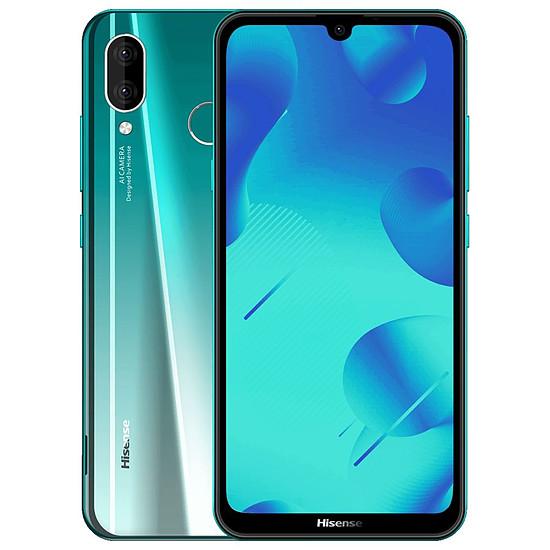 Smartphone et téléphone mobile Hisense Infinity H30 Lite (vert) - 32 Go - 3 Go