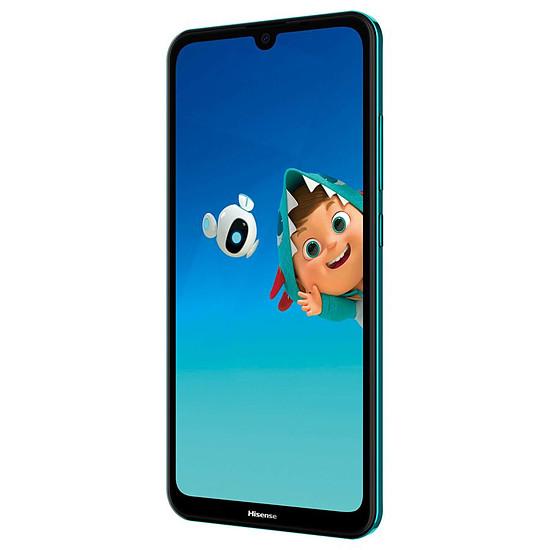 Smartphone et téléphone mobile Hisense Infinity H30 Lite (vert) - 32 Go - 3 Go - Autre vue