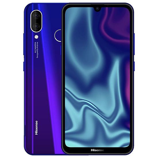 Smartphone et téléphone mobile Hisense Infinity H30 Lite (violet) - 32 Go - 3 Go