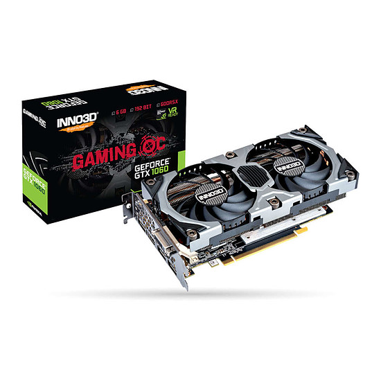 Carte graphique Inno3D GeForce GTX 1060 Gaming OC