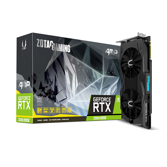 Carte graphique Zotac GeForce RTX 2080 SUPER AMP