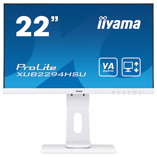 Écran PC Iiyama ProLite XUB2294HSU-W1
