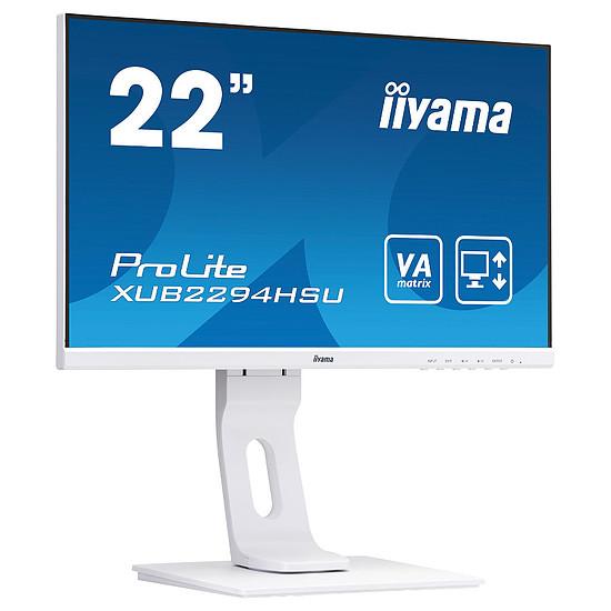 Écran PC Iiyama ProLite XUB2294HSU-W1 - Autre vue
