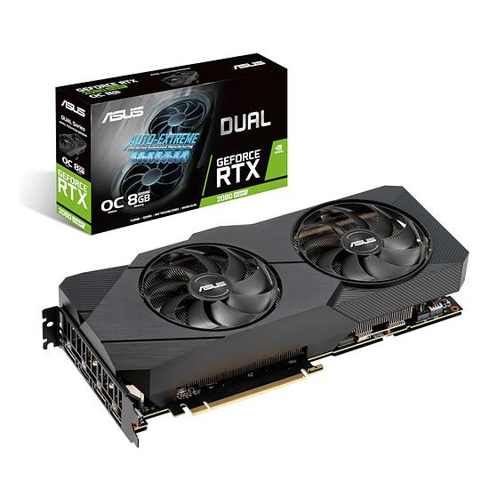Carte graphique Asus GeForce RTX 2080 SUPER Dual OC EVO