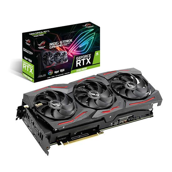 Carte graphique Asus GeForce RTX 2080 SUPER ROG STRIX A8G