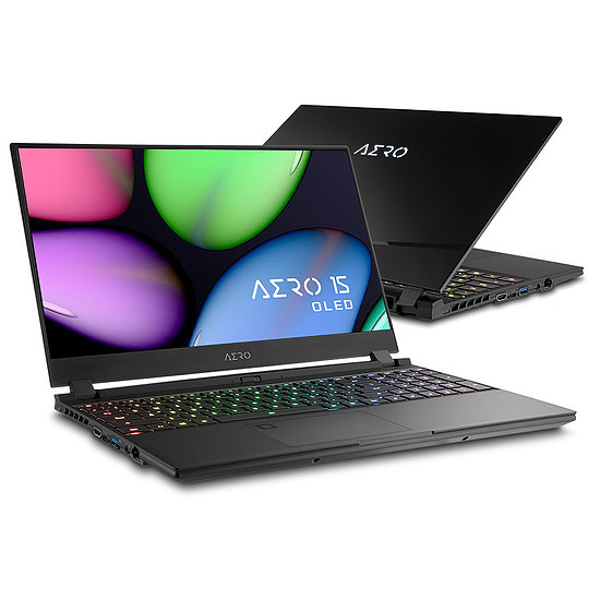 PC portable Gigabyte Aero 15 OLED KB-8FR5130SP