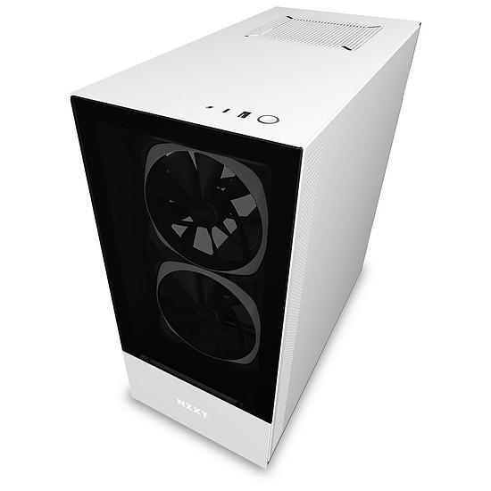Boîtier PC NZXT H510 Elite - Blanc - Autre vue