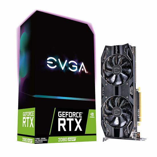 Carte graphique EVGA GeForce RTX 2080 SUPER Black Gaming