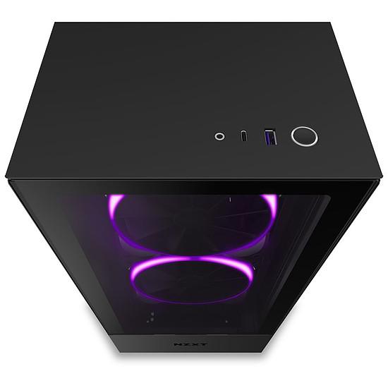 Boîtier PC NZXT H510 Elite - Noir - Autre vue